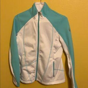 SPYDER Woman's light jacket medium (10-12) NWOT
